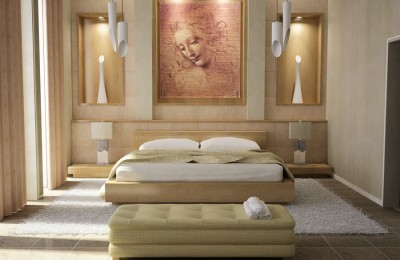 Wall pictures for bedrooms Photo - 1