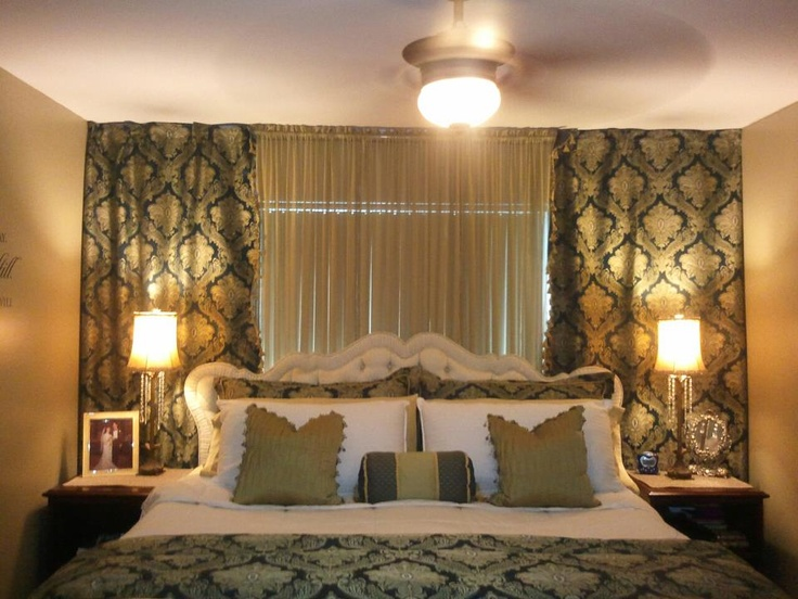 wall to wall curtains in bedroom large and beautiful
