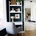 small home office design photo