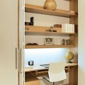 built in home office furniture photo