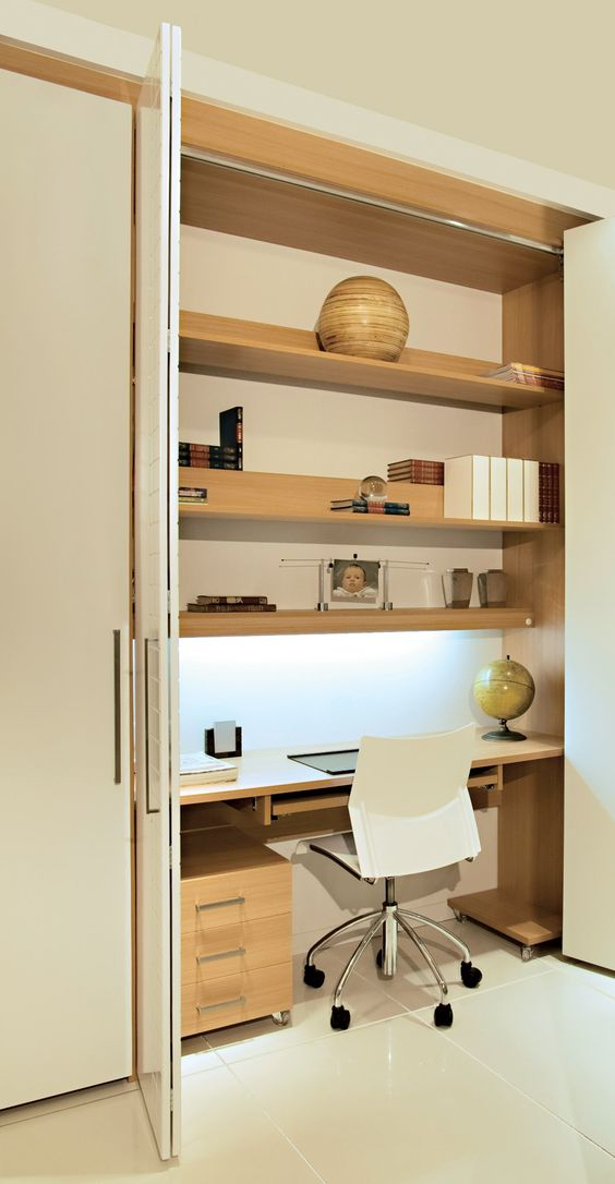 built in home office furniture photo - 1