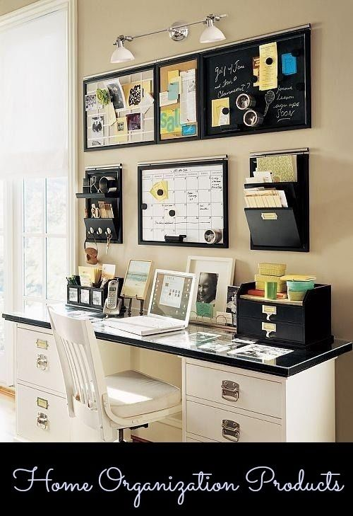 home office wall ideas photo - 2