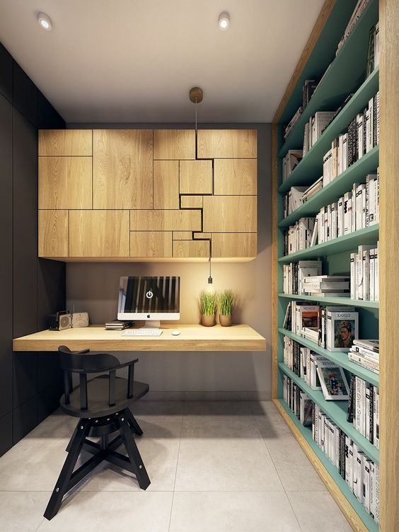 modern home office design photo - 1
