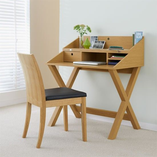 wooden home office desk 2017 photo - 1
