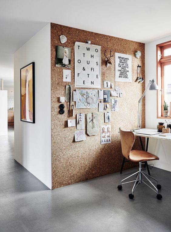 home office wall decor ideas photo - 1