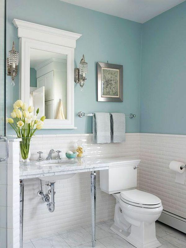 modern wainscoting bathroom photo - 1
