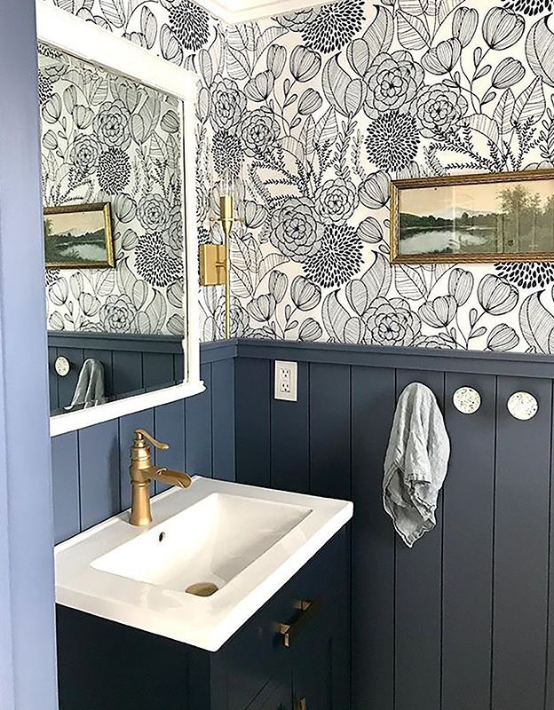 wainscoting bathroom pictures photo - 1