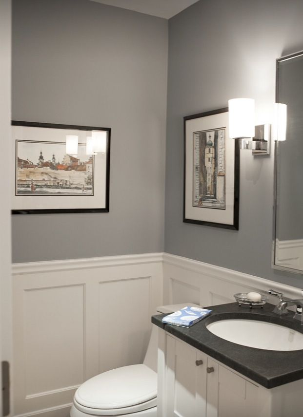 images of wainscoting in bathrooms photo - 1