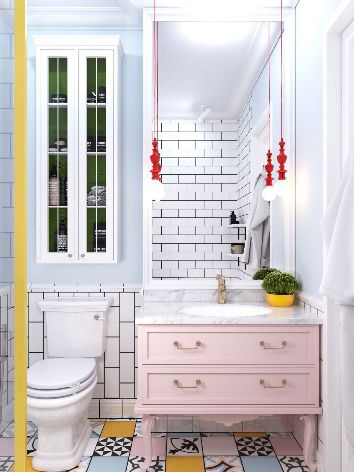 images of bathrooms with wainscoting photo - 1
