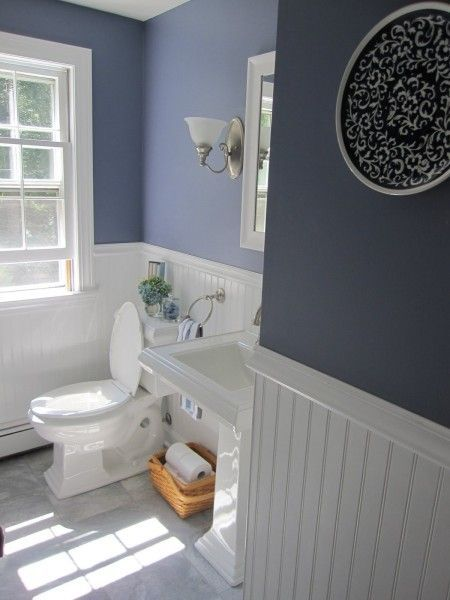 bathroom wainscotting ideas photo - 1