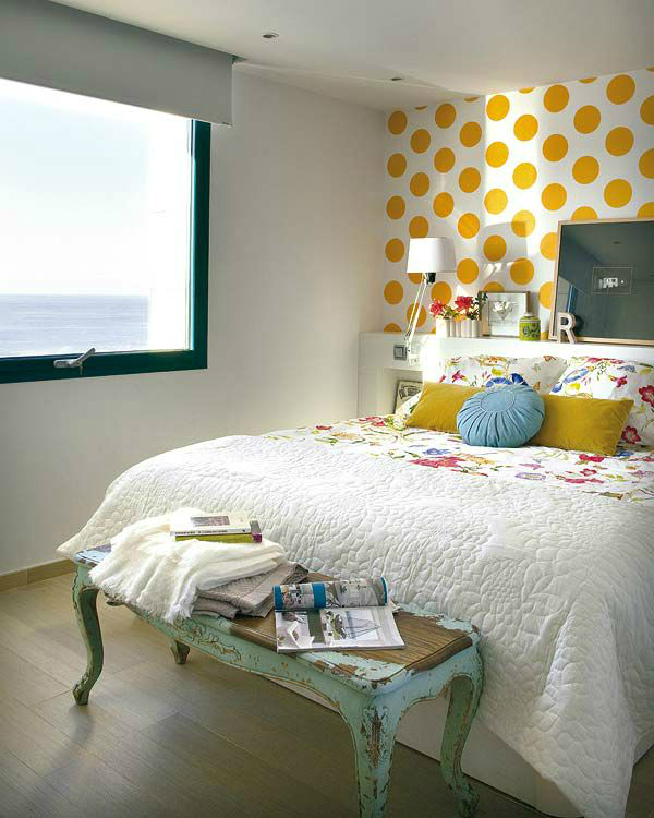 accent wall ideas bedroom photo - 1
