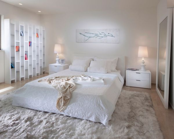 All white bedrooms - large and beautiful photos. Photo to ...