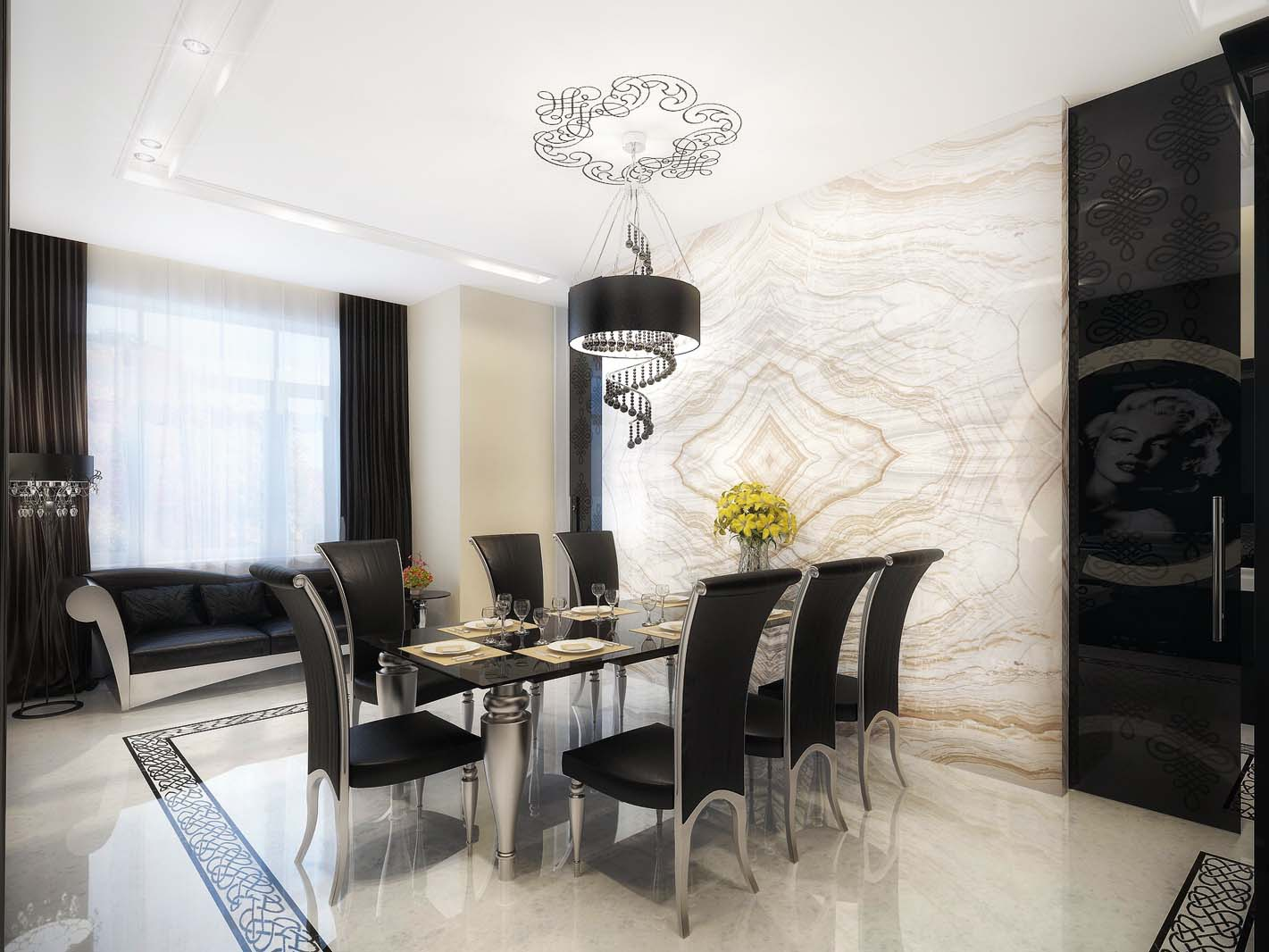 apartment dining room - large and beautiful photos. photo to