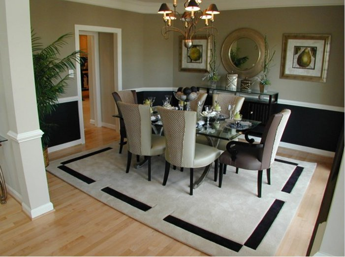 area rugs for dining room photo - 1