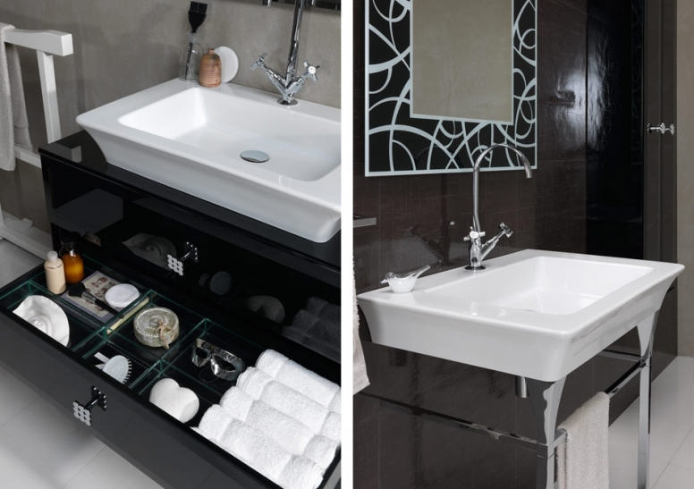 Art deco bathroom - large and beautiful photos. Photo to select ...