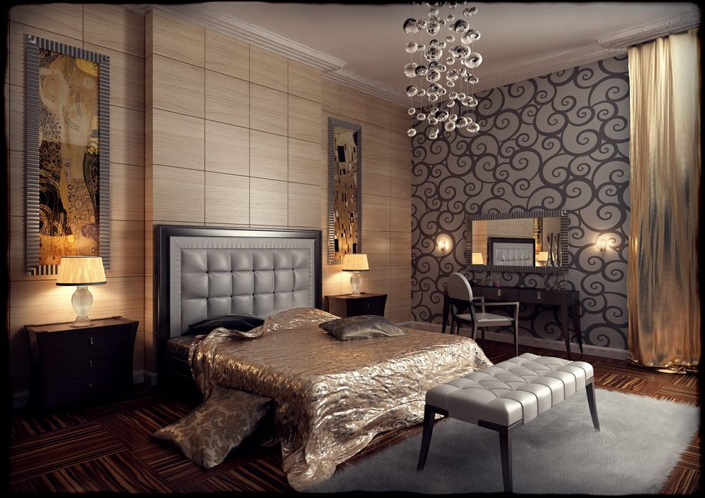 Art deco bedroom ideas - large and beautiful photos. Photo ...