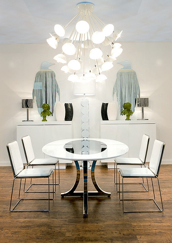 art deco dining room photo - 1