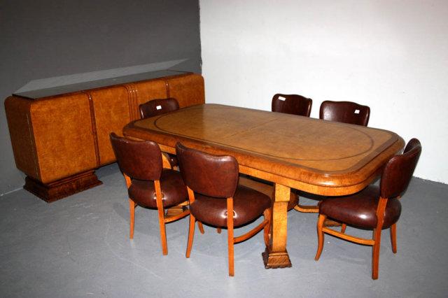 art deco dining room photo - 2