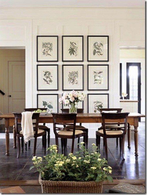 art for dining room photo - 2