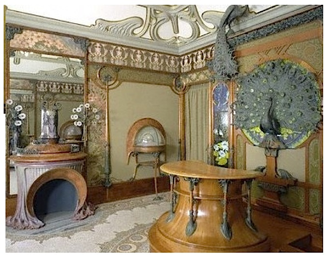 Art nouveau bathroom large and beautiful photos photo for Art nouveau bathroom design