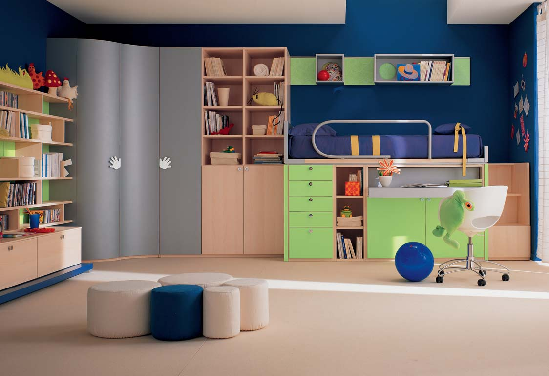 awesome bedrooms for kids photo - 2