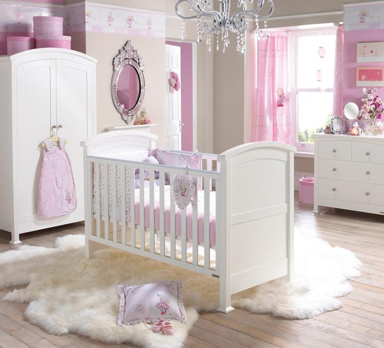 baby girl bedroom ideas decorating photo - 1