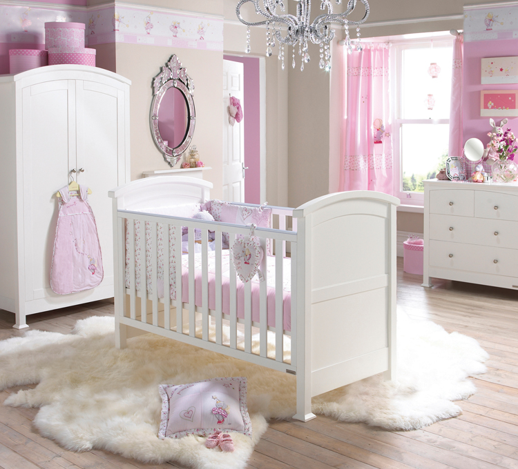 baby girl bedrooms photo - 2