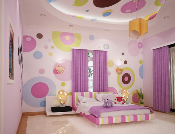 baby girl themes for bedroom photo - 1