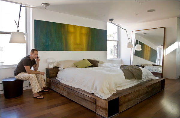 Bachelor bedroom - large and beautiful photos. Photo to select ...