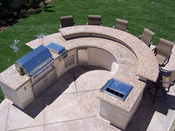 backyard bbq pit designs photo - 1
