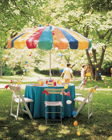 Backyard Birthday Party Decorations