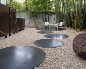 Concrete Backyard Landscaping Design backyard concrete designs - large and beautiful photos. photo to