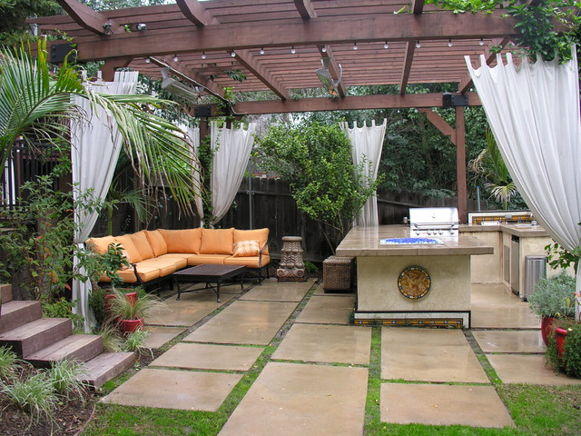 Backyard covered patios - large and beautiful photos. Photo to ...