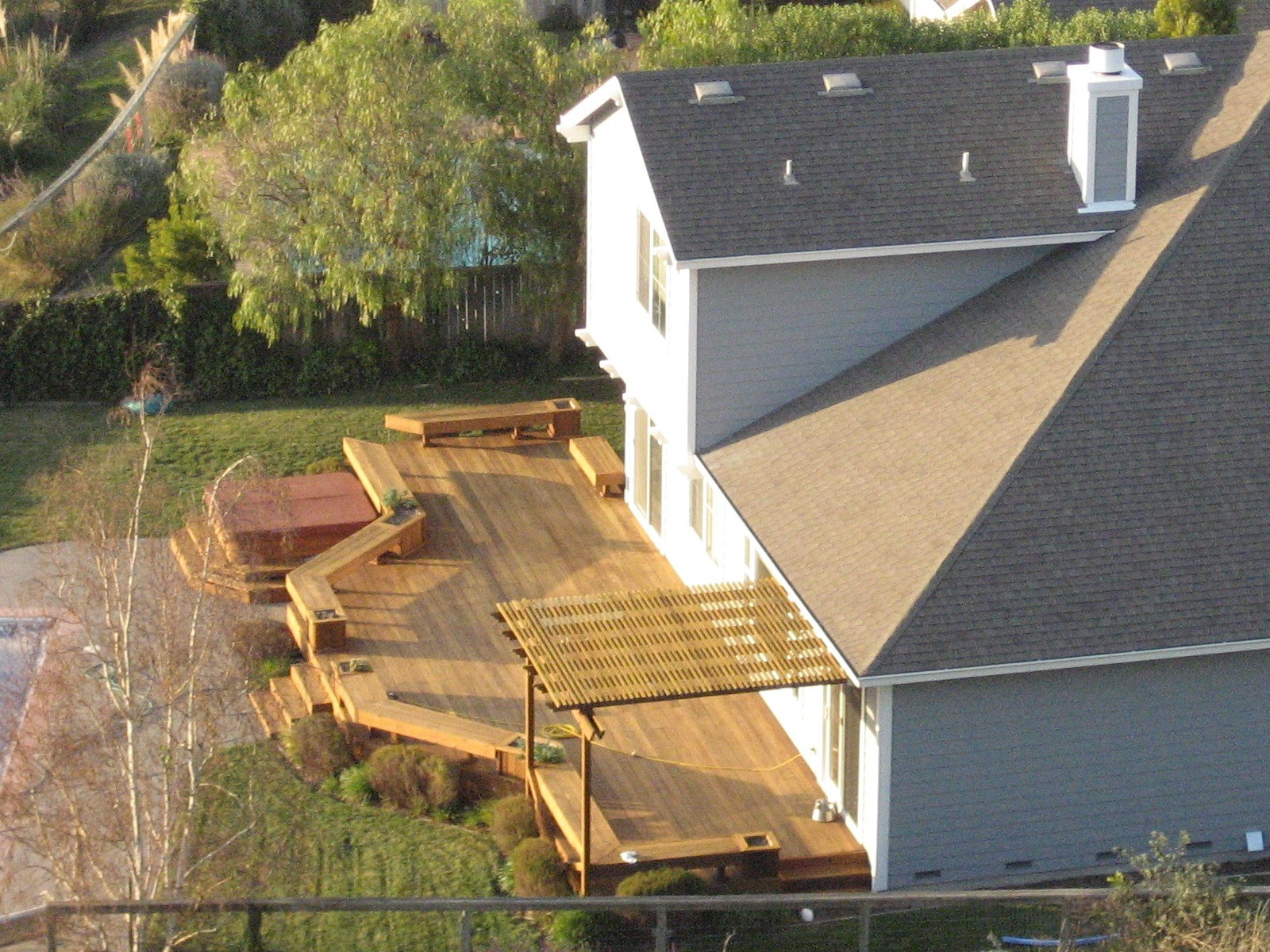 backyard deck designs photo - 1