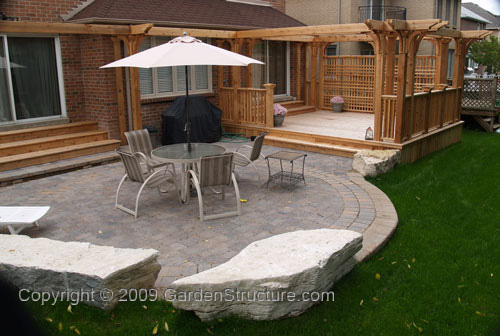 Beautiful Backyard Deck Designs Plans Photo   1