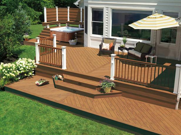 backyard deck design ideas. Backyard Decks - Large And Beautiful Photos. Photo To Select | Design Your Home Deck Ideas