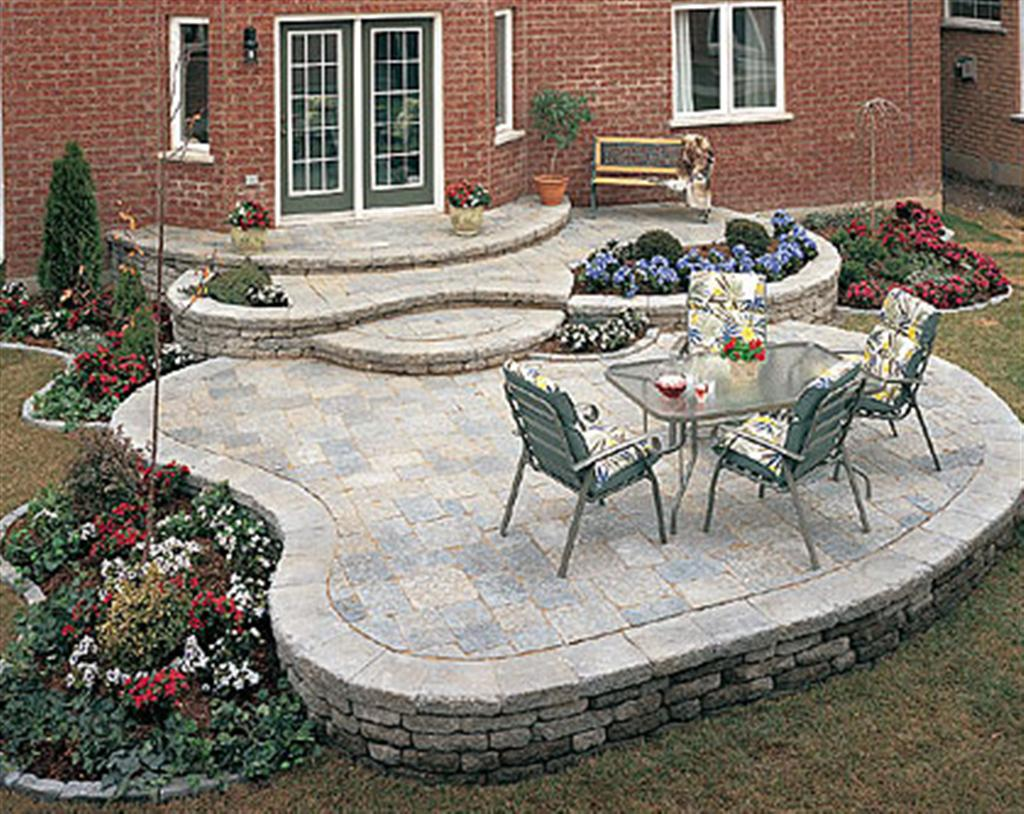 Backyard Patios And Decks With Decorated Decks And Patios