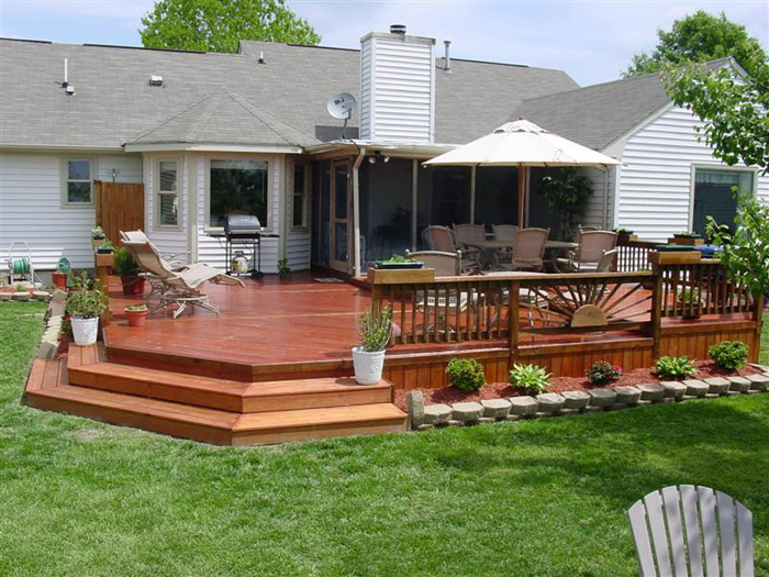 Backyard Decks With Pools   Large And Beautiful Photos. Photo To Select  Backyard Decks With Pools | Design Your Home