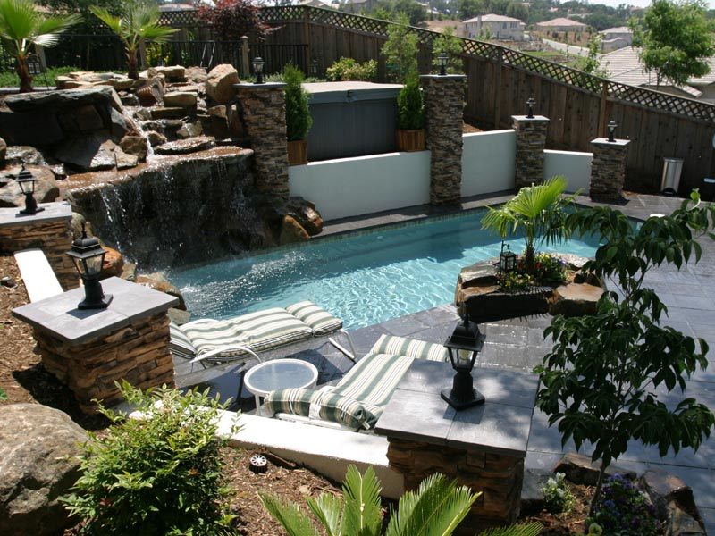Backyard design on a budget - large and beautiful photos. Photo to ...