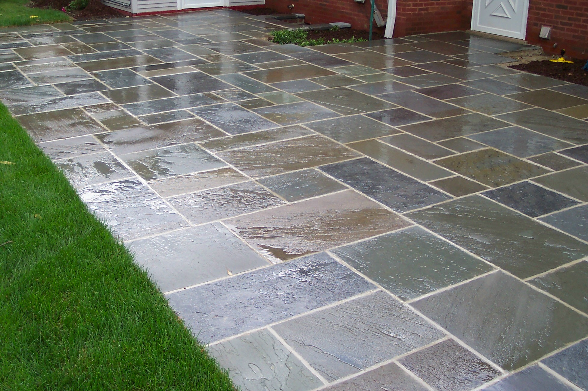 Backyard Paver Designs paver stone patio fresh at flagstone pavers design for outdoor flooring ideas flagstone Backyard Designs With Pavers