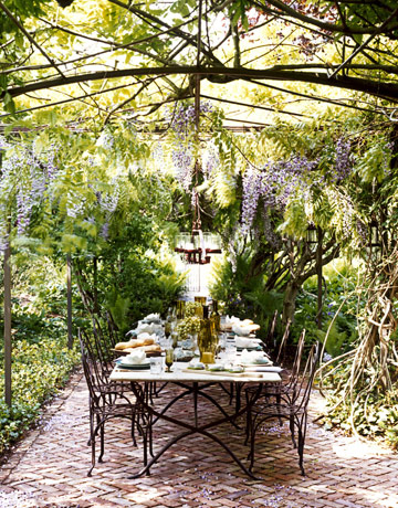 backyard dining photo - 1