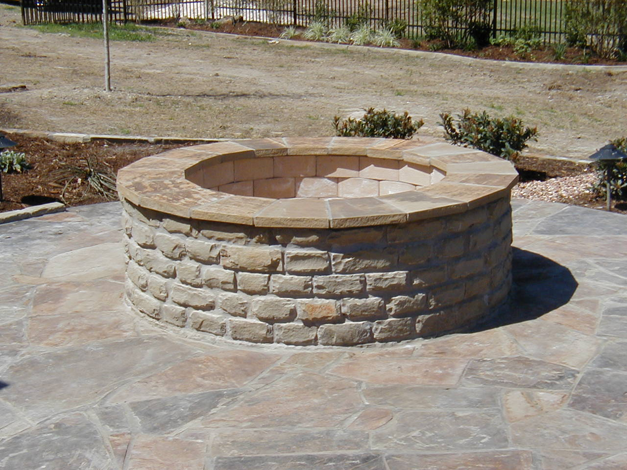 backyard fire pit plans photo - 1