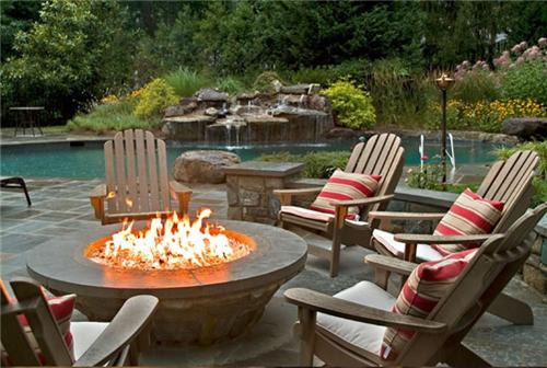 backyard fire pits photo - 1