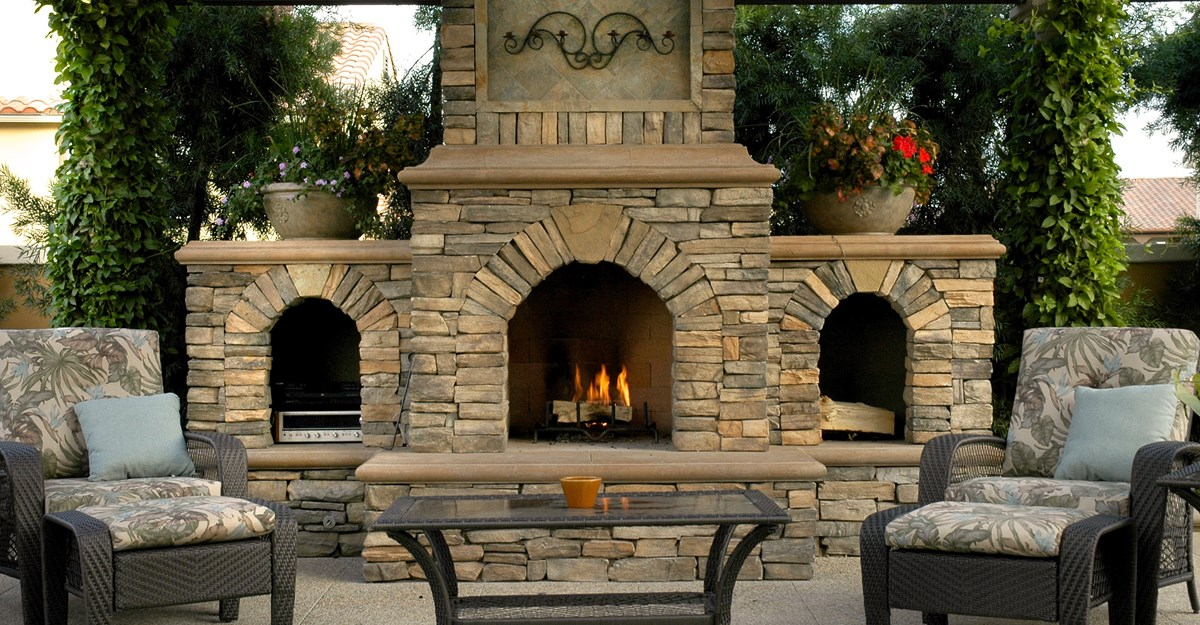 Superieur Backyard Fireplace Large And Beautiful Photos Photo To Select