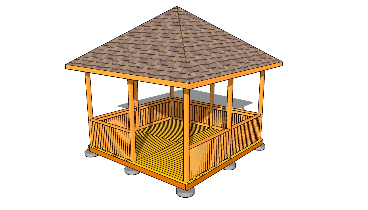 backyard gazebo plans photo - 1