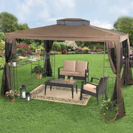 Merveilleux Backyard Gazebos Canopies