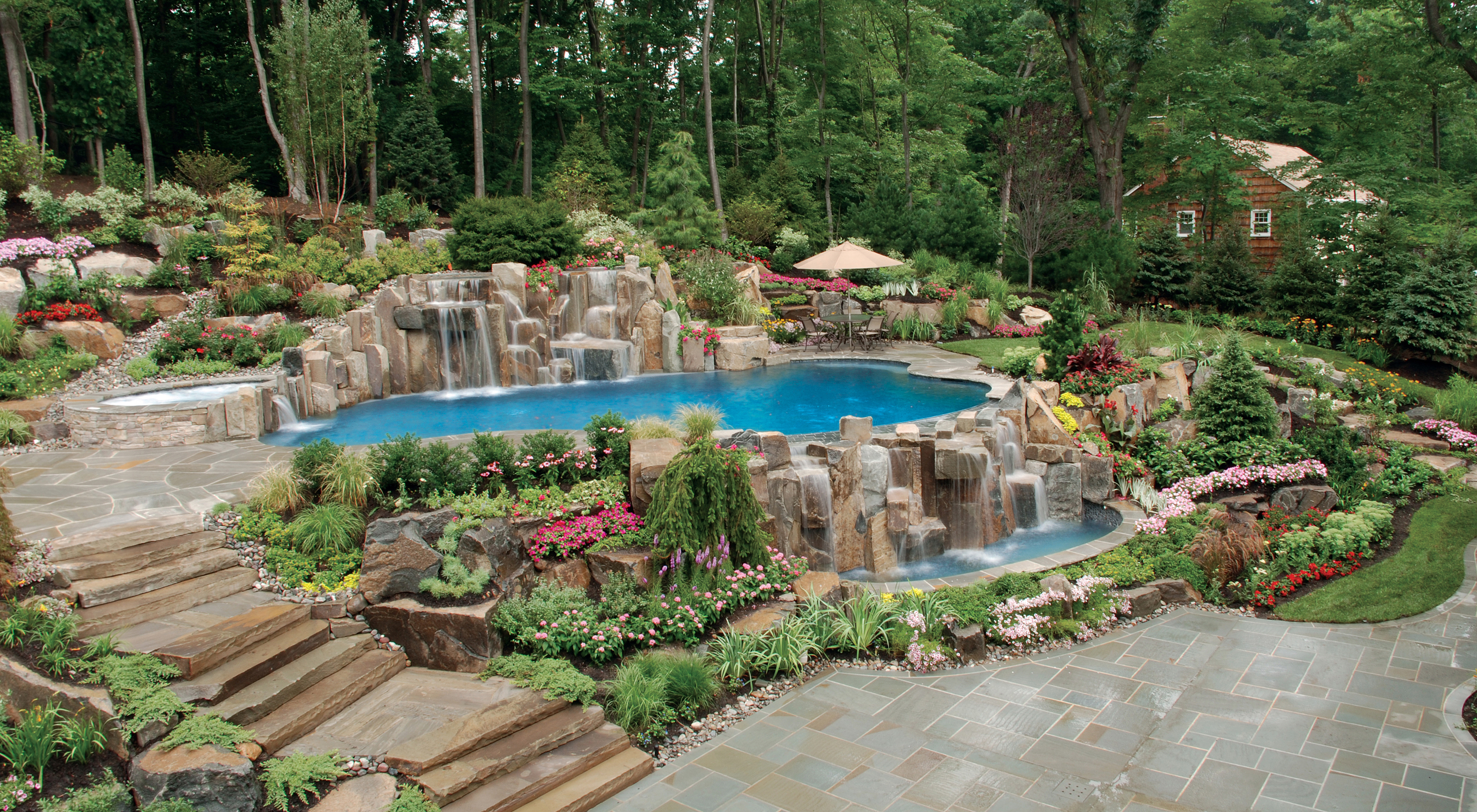Backyard hardscape designs - large and beautiful photos. Photo to ...