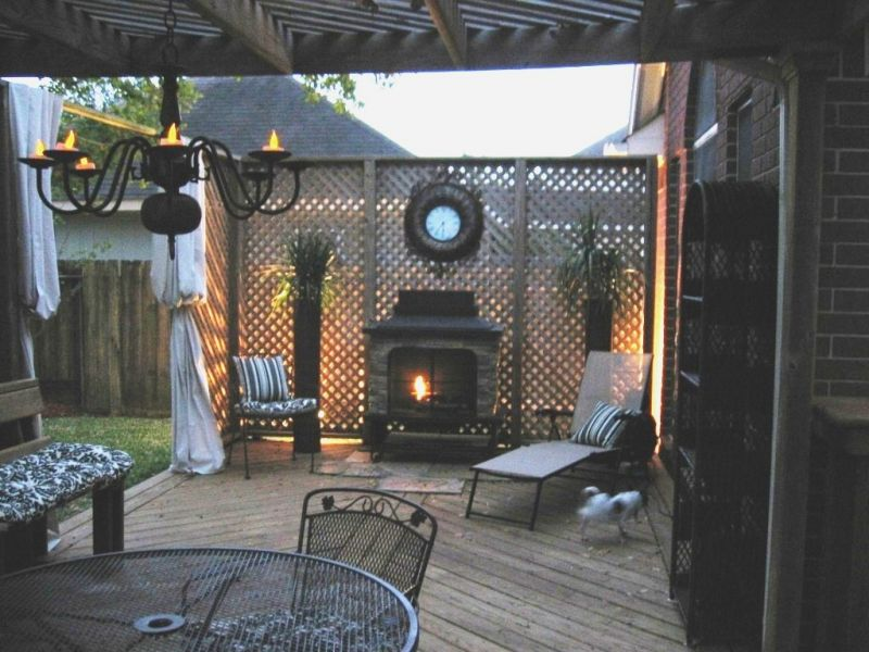 backyard ideas on a budget patios photo - 1