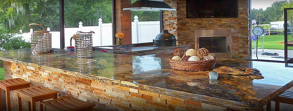 Marvelous Backyard Kitchens Ideas