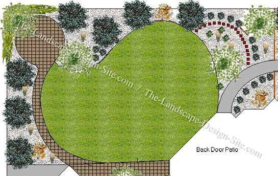backyard landscape plans photo - 1